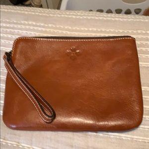 New leather wristlet